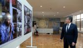 Президент Сооронбай Жээнбеков посетил Музей изобразительных искусств и Театр оперы и балета