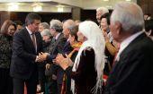 Сооронбай Жээнбеков участвовал в мероприятиях памяти Суймонкула Чокморова