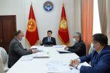 Садыр Жапаров встретился с министром энергетики и промышленности республики