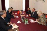 Посол Кыргызстана в ФРГ Э.Абдылдаев встретился с представителем Фонда им.Конрада Аденауэра доктором Петером Хефеле