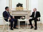 Президент Кыргызстана встретился с российским коллегой