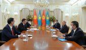 Садыр Жапаров встретился с Нурсултаном Назарбаевым