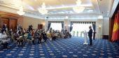 Садыр Жапаров встретился с представительницами различных профессий
