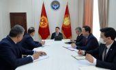 Президент Садыр Жапаров принял Генерального секретаря ССТГ Багдада Амреева