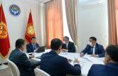 Президент Кыргызстана обсудил деятельность финансовых институтов своей страны