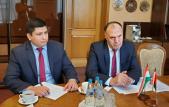 Глава белорусских аграриев провел встречу с Послом Таджикистана