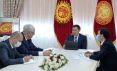 Президент Кыргызстана встретился с Послом Азербайджана