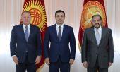 Садыр Жапаров встретился с главой Международной федерации дзюдо Мариусом Визером