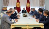 Президент Садыр Жапаров принял президента Союза палат и товарных бирж Турции