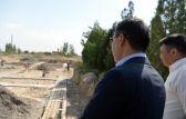 Президент Кыргызстана Садыр Жапаров ознакомился с ходом восстановления инфраструктуры села Максат Лейлекского района