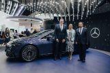 Российская премьера первого электрического седана класса «люкс» EQS состоялась на ПМЭФ- 2021