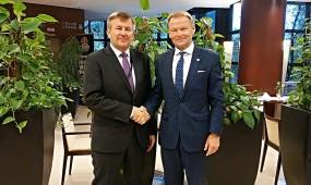 Посол Белоруссии встретился с вице-президентом ЕБРР