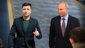 Владимир Путин провел телефонный разговор с украинским коллегой
