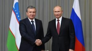 Владимир Путин провел телефонный разговор с узбекским коллегой