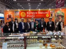 Посол Кыргызстана посетил продовольственную выставку в Японии