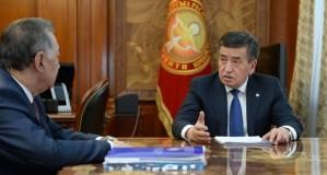 Сооронбай Жээнбеков ознакомился с подготовкой Форума по национальному диалогу