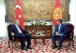 Президент Турции поздравил Президента Кыргызстана