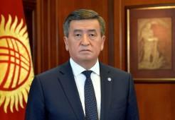 Президент Кыргызстана призвал всех к соблюдению дисциплины
