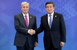 Президент Кыргызстана пообщался по телефону с казахстанским коллегой
