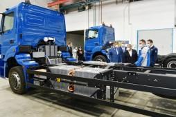 КАМАЗ ведет работы по созданию грузовых электромобилей