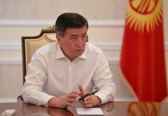 Сооронбай Жээнбеков: 30 июля будет объявлен Днем национального траура