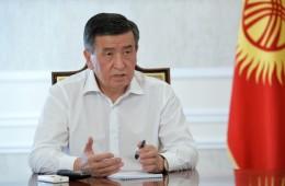 Президент Кыргызстана высказался на тему воду в Токтогуле