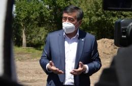 Продолжается рабочая поездка Президента Сооронбая Жээнбекова в Иссык-Кульскую область