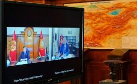 Президент и Премьер-министр Кыргызстана пообщались в режиме онлайн
