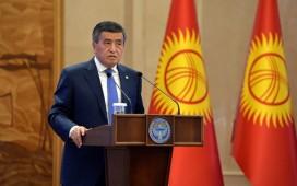 Сооронбай Жээнбеков подвел итоги деятельности на посту Президента Кыргызстана