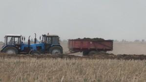 Четверть органических удобрений под сев будущего года к месту назначения в Белоруссии уже вывезено