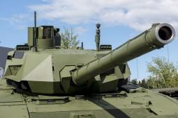 Уралвагонзавод впервые покажет за рубежом танк Т-14