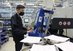 На предприятии ОДК началась опытная эксплуатация системы штрихкодирования