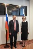 В Москве состоялась встреча Министра здравоохранения КР А.Бейшеналиева с Руководителем Роспотребнадзора А.Поповой