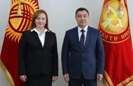 Президент Кыргызстана встретился со спецпредставителем Генерального секретаря ООН