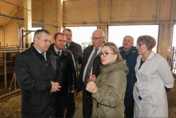 Глава белорусских аграриев посетил один из регионов республики