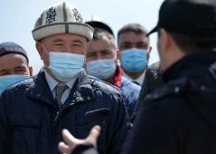 Президент Кыргызстана ознакомился с проектом по строительству промышленных, торговых и логистических предприятий в г. Баткен